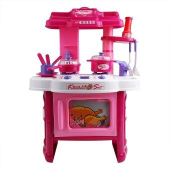 R toys kitchen play set for little girls lazada malaysia for Little girl kitchen set