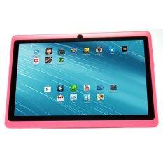 "(REFURBISHED) Ampe Flatpad II A13 Tablet 7"" WiFi Dual Camera Pink"
