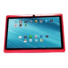"(REFURBISHED) Ampe Flatpad II A13 Tablet 7"" WiFi Dual Camera Red"