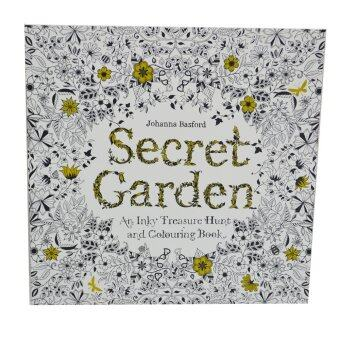 Secret garden coloring book 2 in 1 lazada malaysia Amazon coloring books for adults secret garden