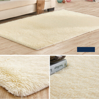 Soft Flush Anti slip Carpet Dining Bedroom Bathroom Rug