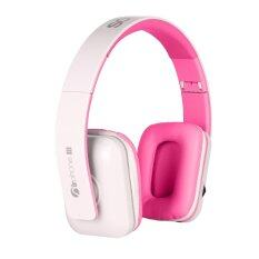 Sonic Gear AirPhone III Bluetooth Headset (White Pink)