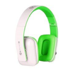 SonicGear AirPhone III Bluetooth Headset (White Green)
