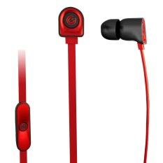 SonicGear NeoPlug Nozz Earset with Mic Red