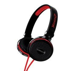 SonicGear Xenon 7 Headset for Mobile Devices (Black/Red)