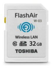 Toshiba FlashAir 32GB III Wireless WiFi Class 10 SD Memory Card