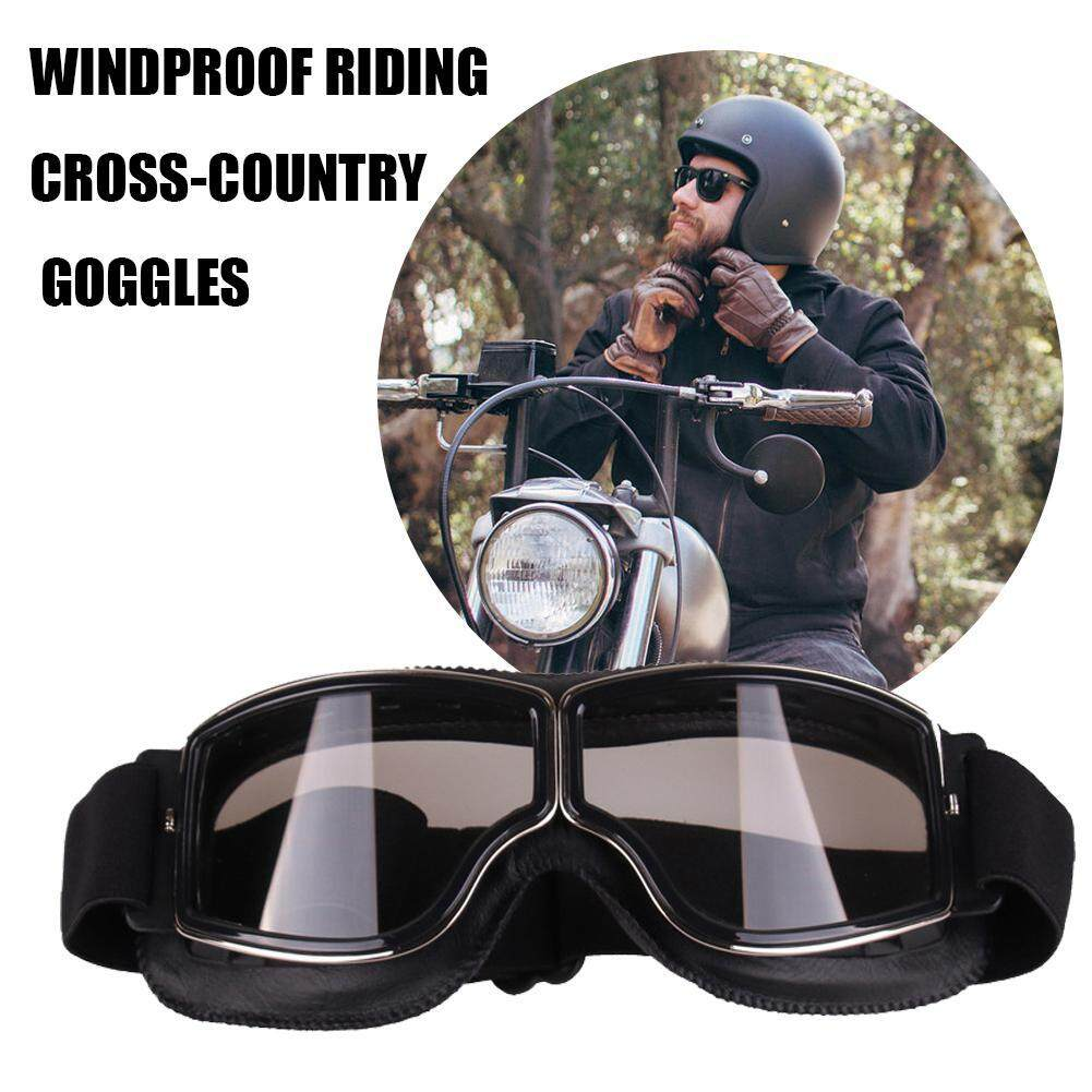 83ed83414285 Karting Harley Goggles / Motorcycle Glasses / Riding Cross-country Goggles,  Retro Classic Outdoor