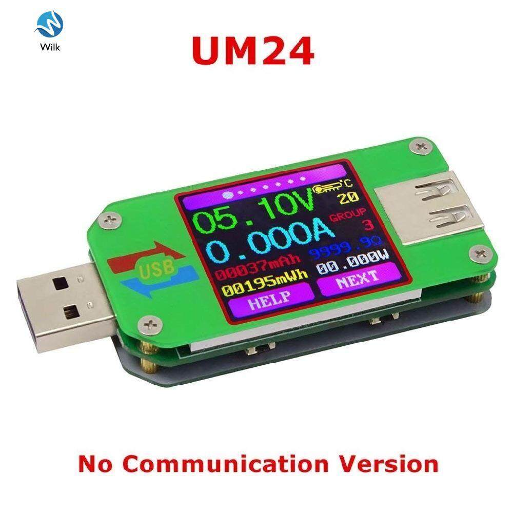 RD UM24 USB 2.0 Color LCD Display Tester Voltage Current Power Temp Meter
