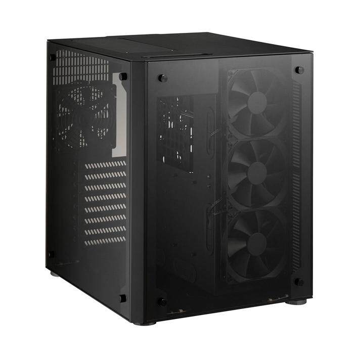 [CAS]Lian Li PC-O8WX Mid Tower eATX Case - Black Malaysia