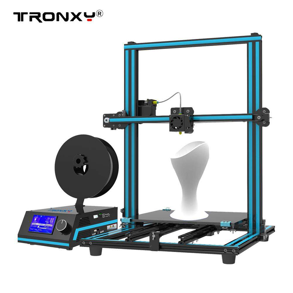 Tronxy X3s 3d Printer 3-Steps Installation Dual Z Screws Double Fans 330 * 330 * 420mm Print Size By Outdoorfree.