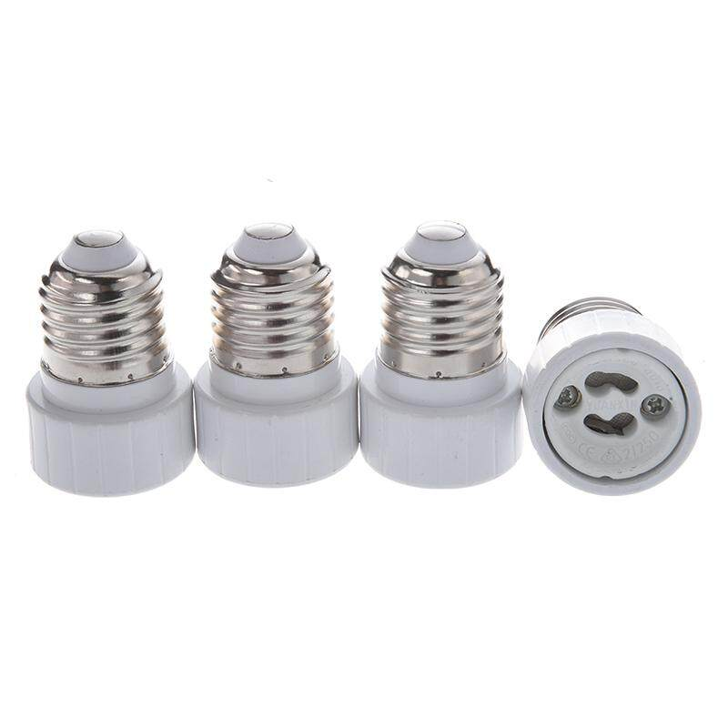 4 X E27 To Gu10 Led/cfl Lamp Welding-Free Adapter Converter,special Offers Available By Superbuy888.