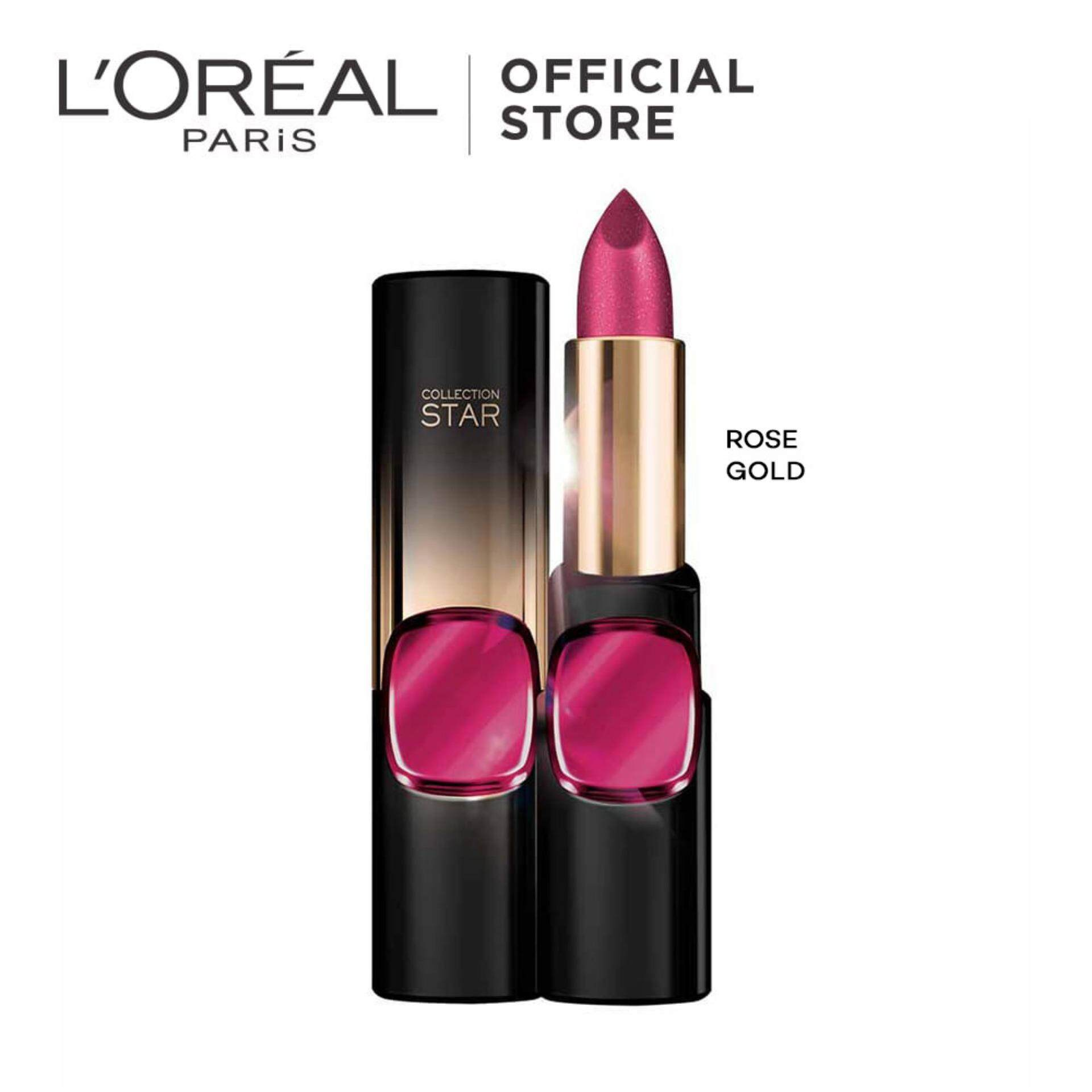 L'Oreal Paris Color Riche Star 24K Gold Lipstick