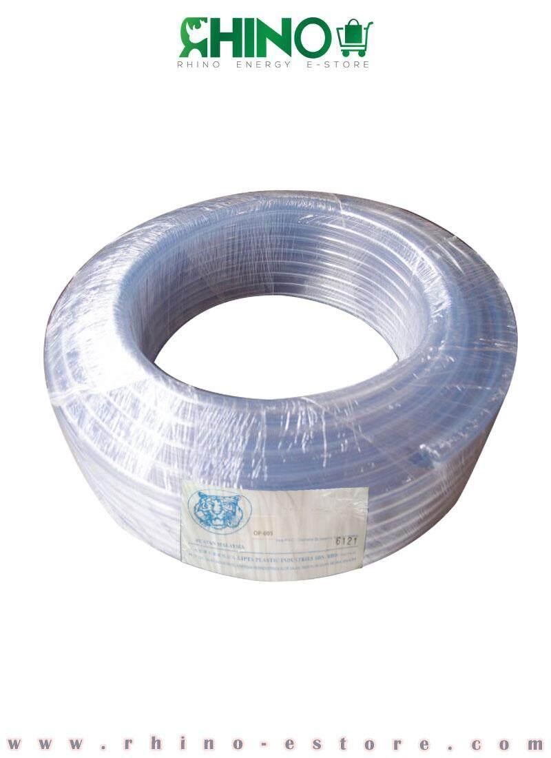 PVC Clear Hose 9.5mm x 1.25mm x 30M