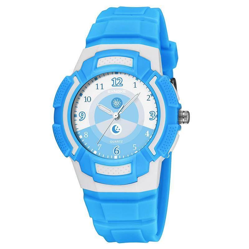 YBC Sports Watches Waterproof Quartz Wristwatch Multifunction Watch for Student Child Kids Malaysia