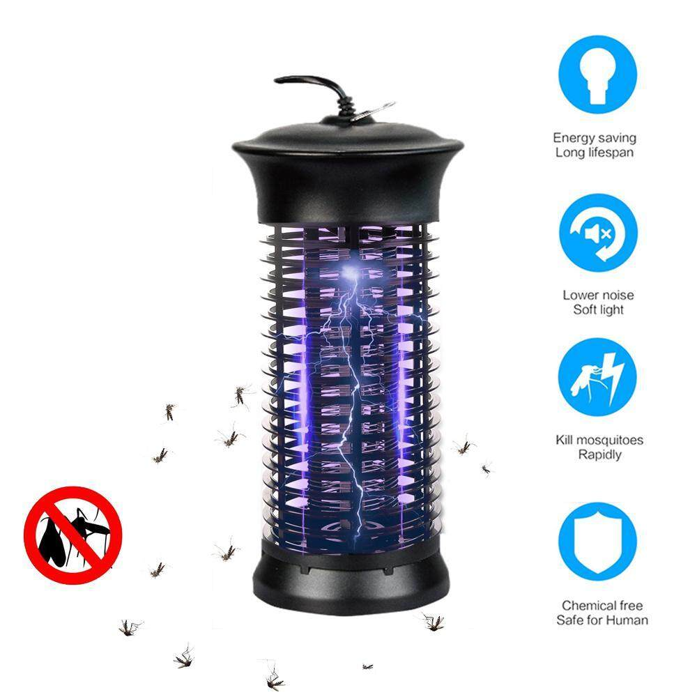 DS-Mart Electric Mosquito Killer Light,Insect Repeller,Hooked Fly Mosquito Killer,with 360°UV Light Large Coverage,Non-Toxic,100% Safety ,for Indoor and Outdoor