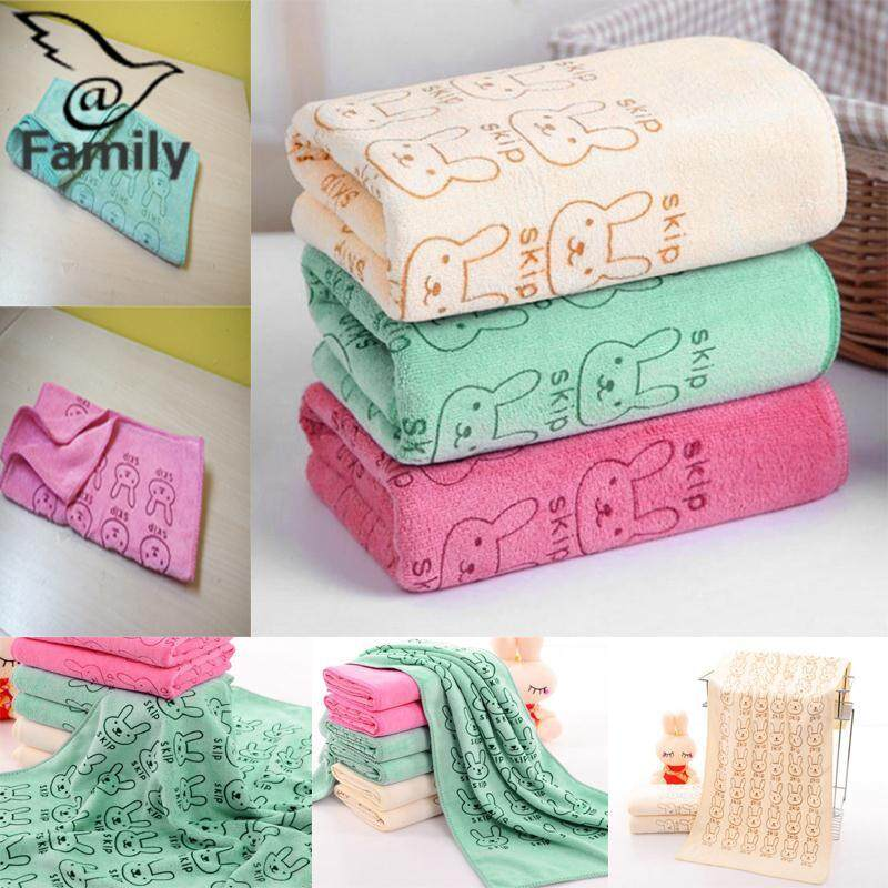 Big Family:baby Personal Care 3pcs/lot Soft Baby Infant Newborn Rabbit Animals Bath Towel Washcloth Bathing By Bigfamily.