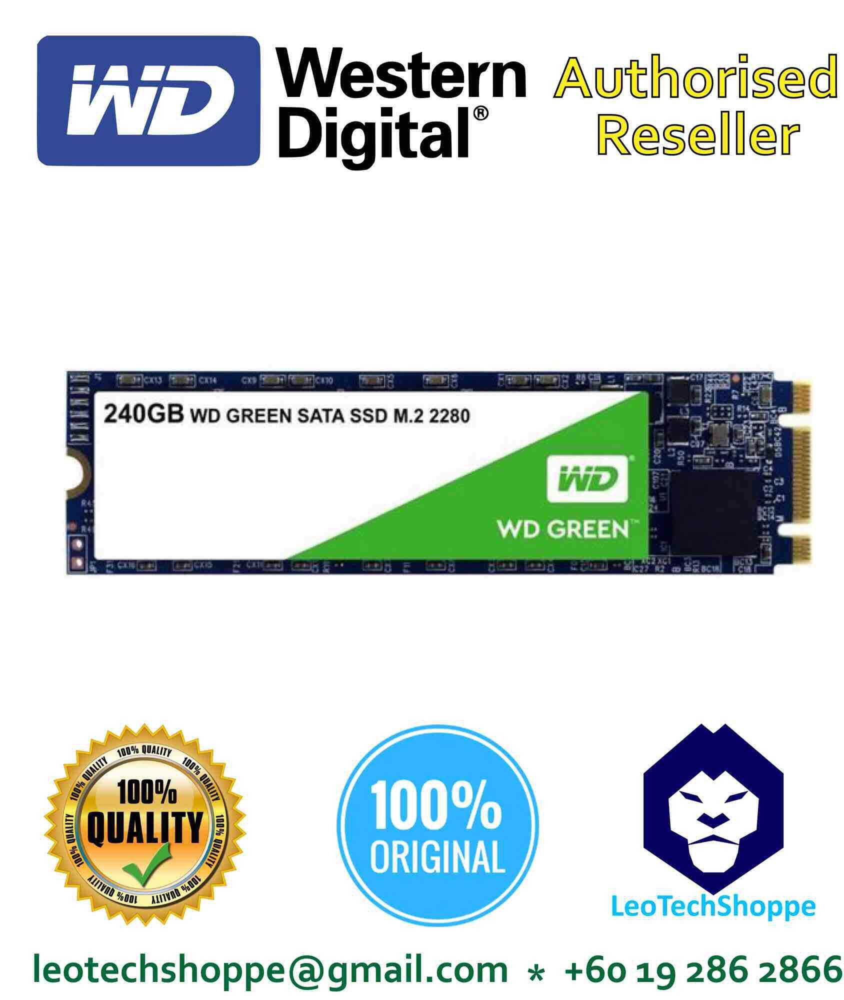 Wd Green Buy At Best Price In Malaysia Ssd 240gb 25 Sata Pc 120gb M2 2280
