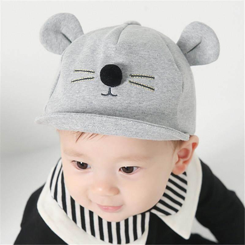 Panda Online Baby Hat Cartoon Cat Design Kids Baseball Cap Boys Girls Sun  Hat aeb5b4000dc0