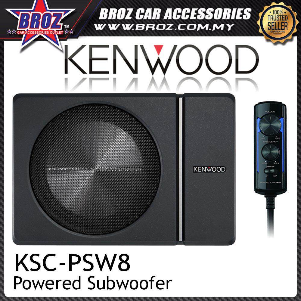 Car Audio Buy At Best Price In Malaysia 2007 Toyota Camry Stereo Amp Wiring Kenwood Ksc Psw8 Compact Powered 8 Subwoofer