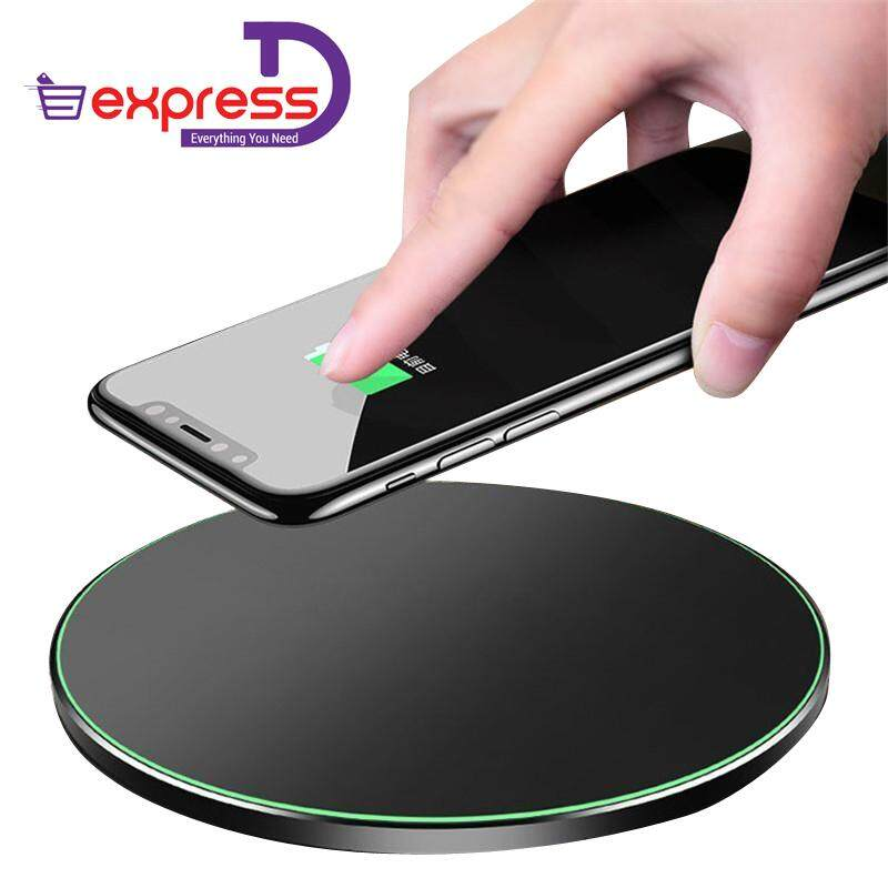 Kd-1 Wireless Fast Charging Pad For For Iphone X, Samsung Note 8 Etc. Fast Charging Wireless Charger By Express D.