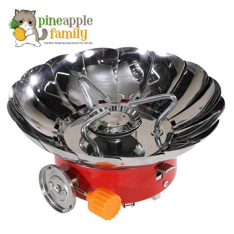 Windproof Outdoor Stove Cooker Cookware Gas Burners