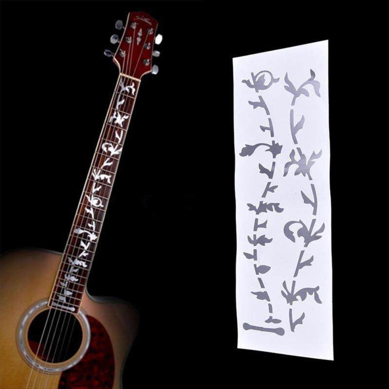 Veli shy DIY Tree Of Life Guitar Or Bass Fretboard Inlay Sticker Silver Color Malaysia