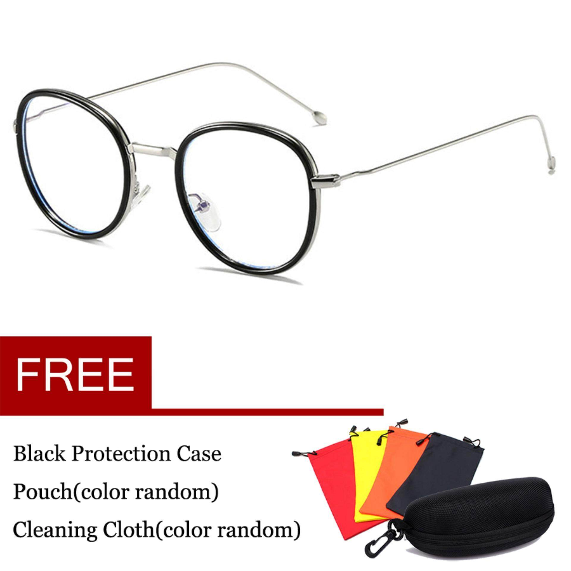 6e092b83d9 Computer Gaming Glasses Anti Blue Light Anti Reflective Anti Glare Anti Eye  Strain Lens 100%