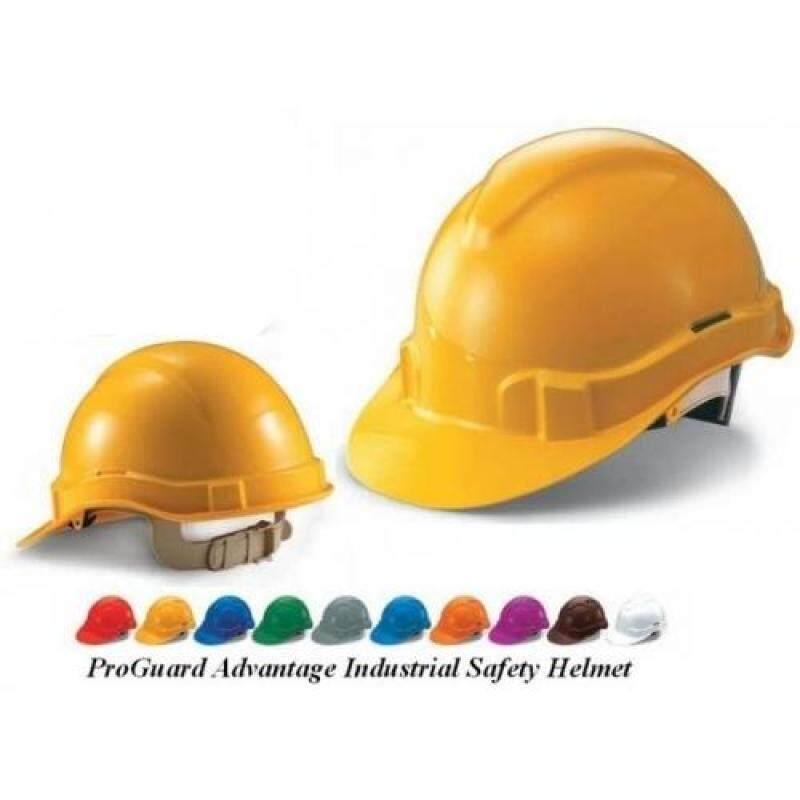 10 pcs Orange Proguard Advantage 1 Industrial Safety Helmet Sirim Certified
