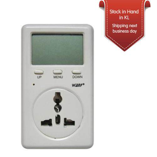 WanF Power Electric Voltage Consumption Meter Ammeter D02A Digital Energy Monitor