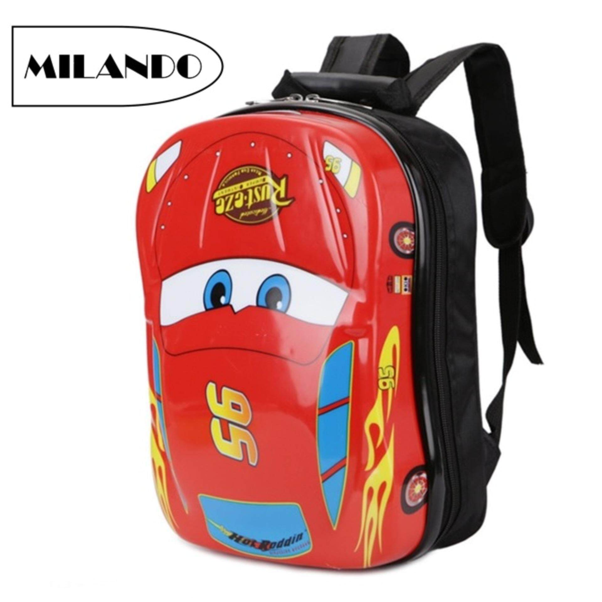a9e88d22179f MILANDO Kid 13-inch Egg Hard Case ABS Shell Children Kids Backpack Pre School  Bag