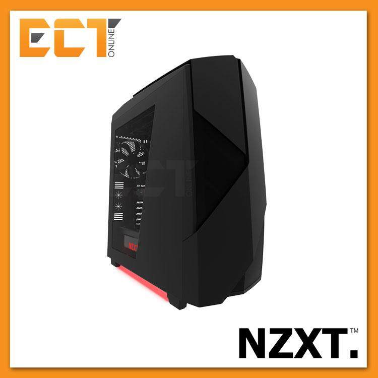NZXT Noctis 450 ATX Mid Tower with Ventilation Panels Case / Chassis - Black/White Malaysia