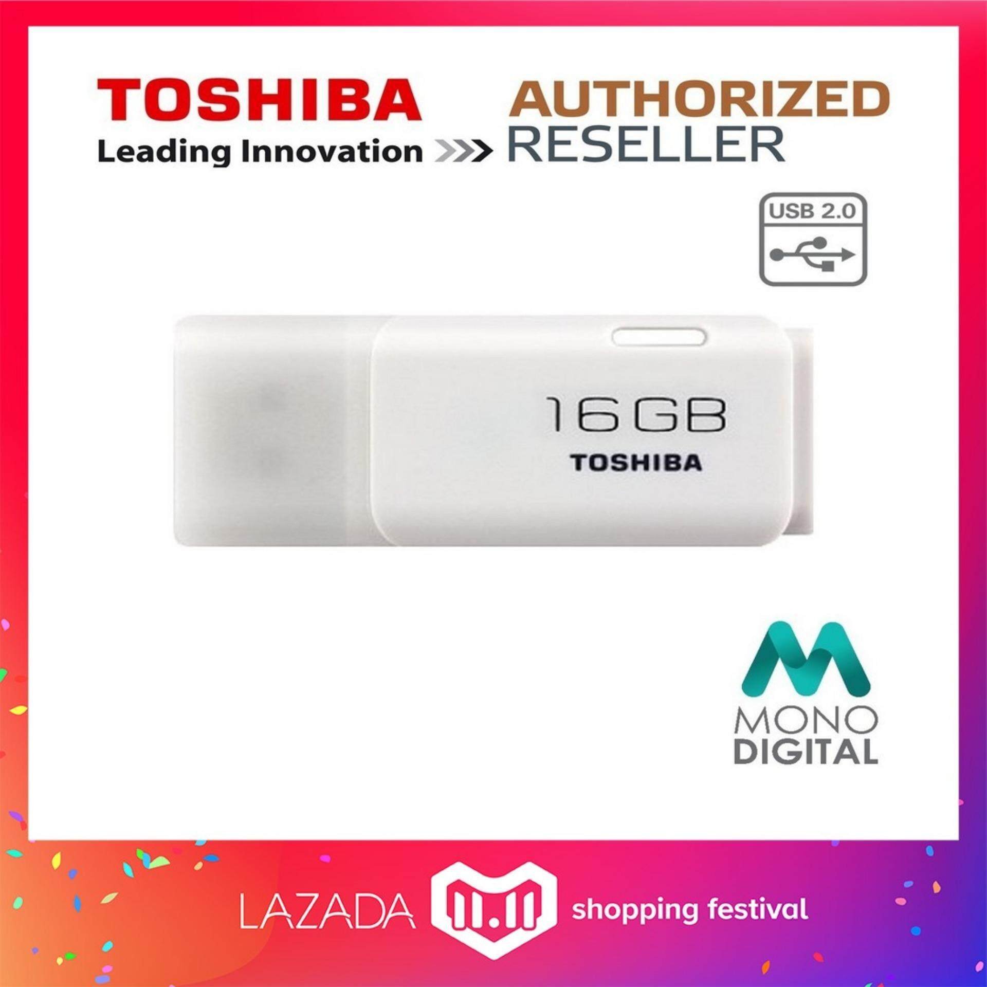 Toshiba Flash Drives For The Best Prices In Malaysia Disk Hayabusa 16gb Usb 20 Transmemory Drive White Pendrive