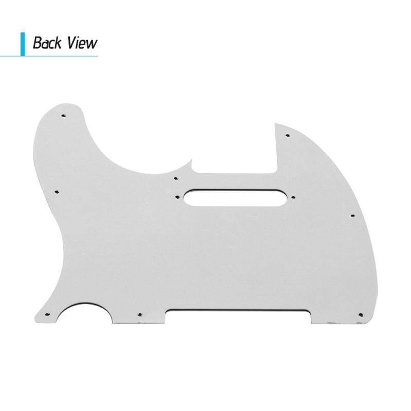 3Ply Guitar Pickguard with Single Coil Pickup Hole for Fender Telecaster Style Electric Guitar Brown Tortoise Malaysia