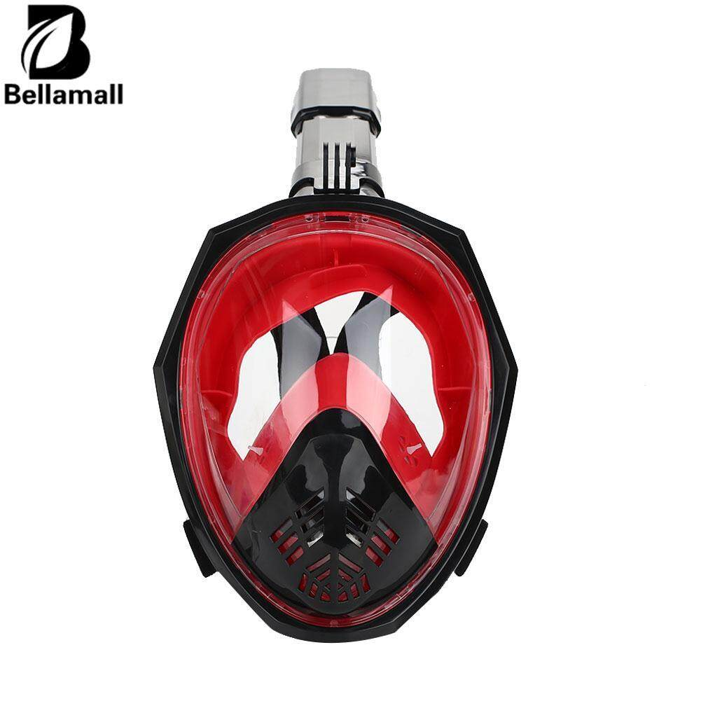 Bellamall L/XL Scuba Dry Submersible Mask Swimming Mask Durable