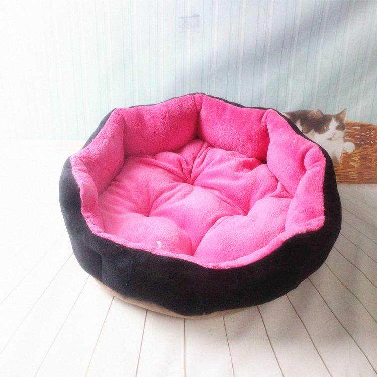 Yoi Pet Dog Cat Bed Soft Cotton Bed With Removable Detachable Pad (l Size) Free Mystery Gift By Yoi Online Mall.