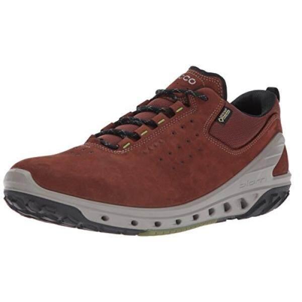 7305677aa910 ECCO Mens Biom Venture Leather Gore-Tex Tie Hiking Shoe