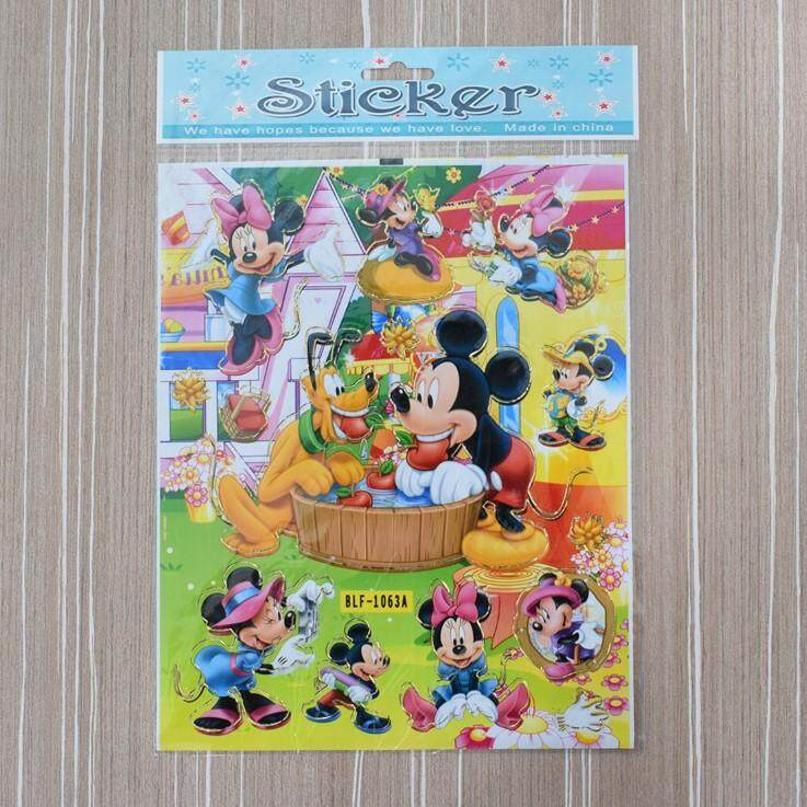 Mickey Mouse Stickers For Kids 10pcs/set By Ac Shopper.
