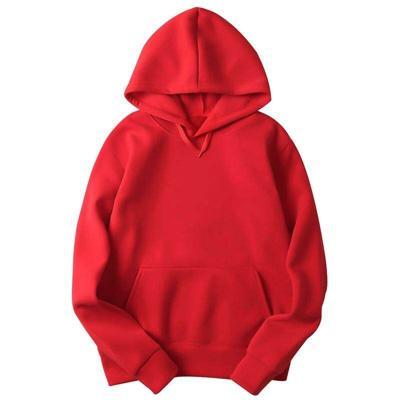 Spring\ Unisex Solid Color Loose Hoodies Casual Hooded Sweatshirt Pullover Outwear High Quality