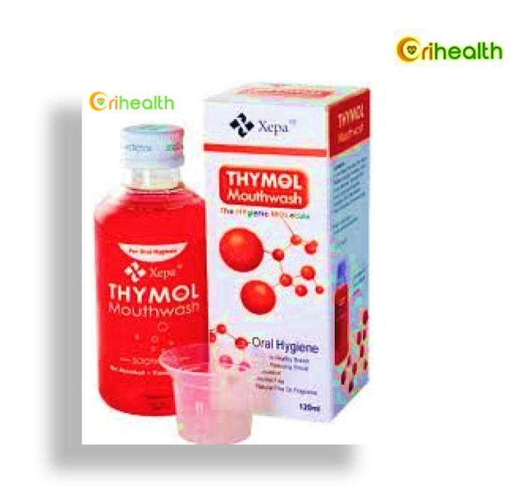 Thymol Mouthwash Oral Hygiene 120ml By Orihealth