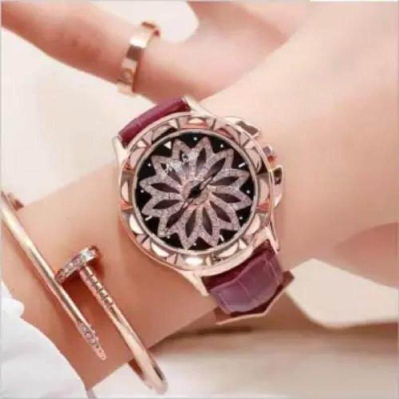 Switzerland Luxury Brand Mashali 30 waterproof Leather strap women fashion watches 88115 Malaysia