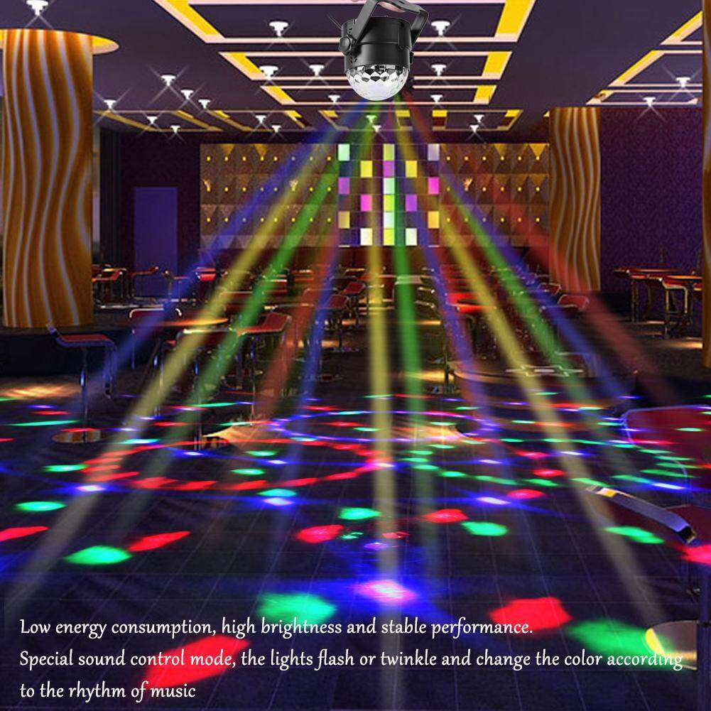 Tmishion 3w 110~240v Mini Rgb Led Magic Ball Stage Light Pub Effect Lamp (us Plug) By Rubikcube.