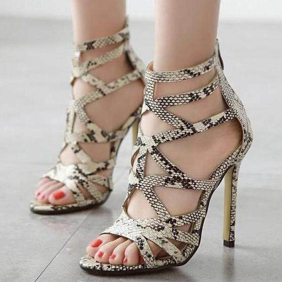 New And Fashion Women's Sandals High Heels Casual Shoes Heeled Sandals By Xin Xin Shop.
