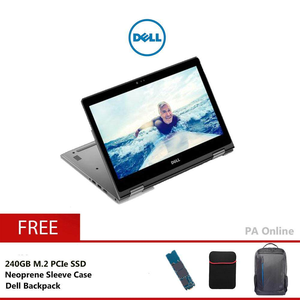 Dell Inspiron 5482T-82812G - 240GB  /Intel® Core I5-8265U /8GB /240GB+1TB /14 FHD Touch /2GB NVIDIA® MX130 /Windows 10 /2 Years Malaysia