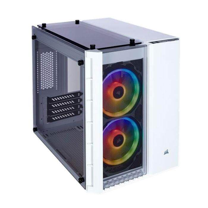 Corsair 280X Crystal Small Tower mATX Case White Malaysia