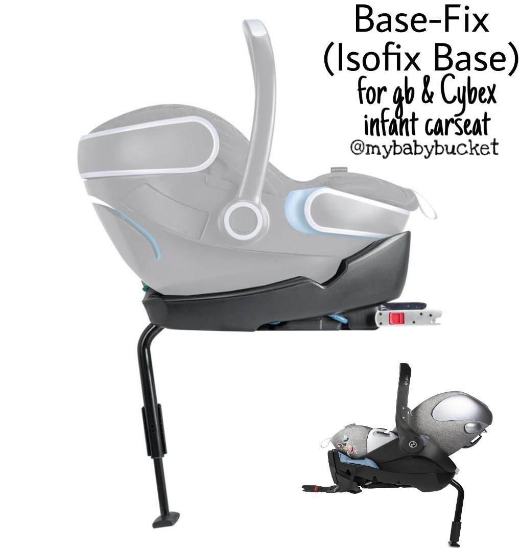 gb Base Fix Isofix Base for Cybex gb infant carseat a267adb578