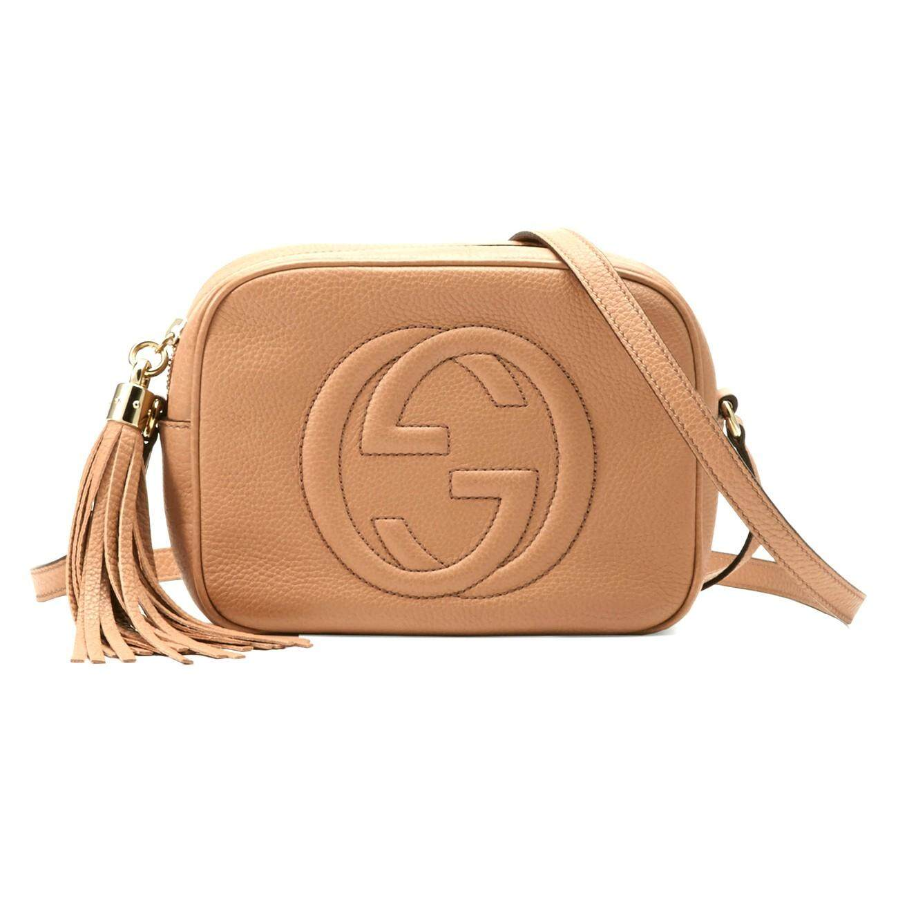 Christmas Gucci 308364 A7m0g 2754 Soho Small Leather Disco Bag Rose Beige