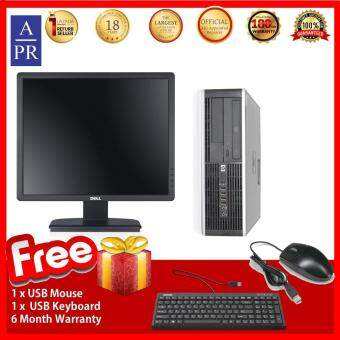 HP Compaq Elite 8000 (SFF) Desktop PC C2D 3.0ghz, 4GB RAM, 160GB HDD, Win7 (Factory Refurbished)   + 19  Monitor FullSet ( Super Deal)