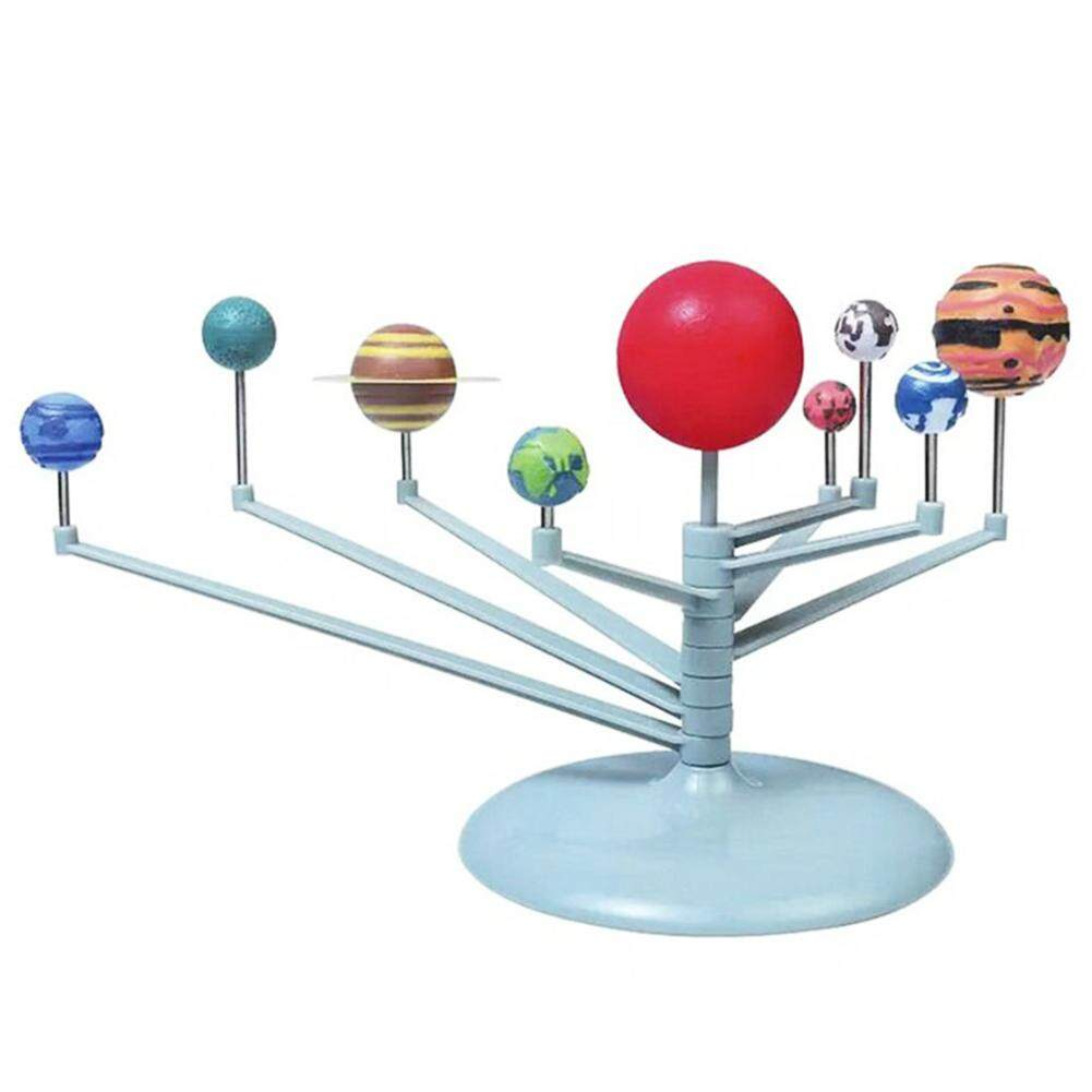 Wonderful Toy 3D Solar System Planetarium  Model Learning Study Science Kits Educational Astronomy Model DIY Toy Gift Multicolor