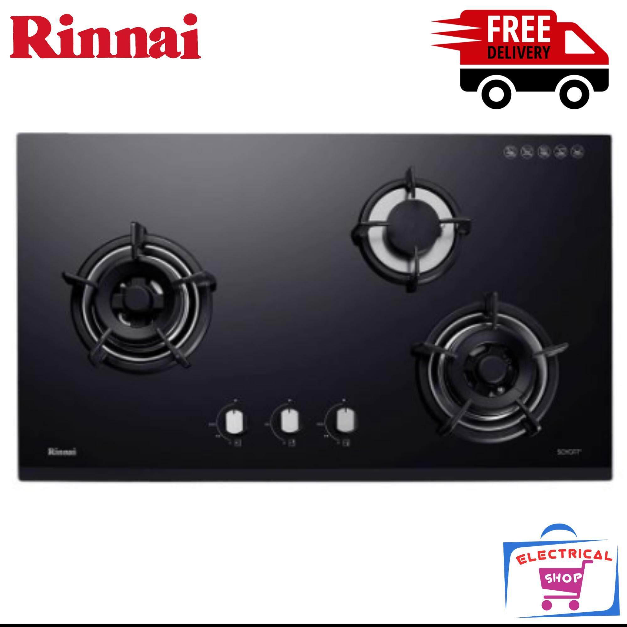Rinnai Gas Hob Rb93ug 3 Hyper Burner 5 5kw Flexible Cut Out Free