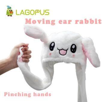 Bandingkan New Hot Sale Lovely Moving Ear Rabbit Hat Toys Funny